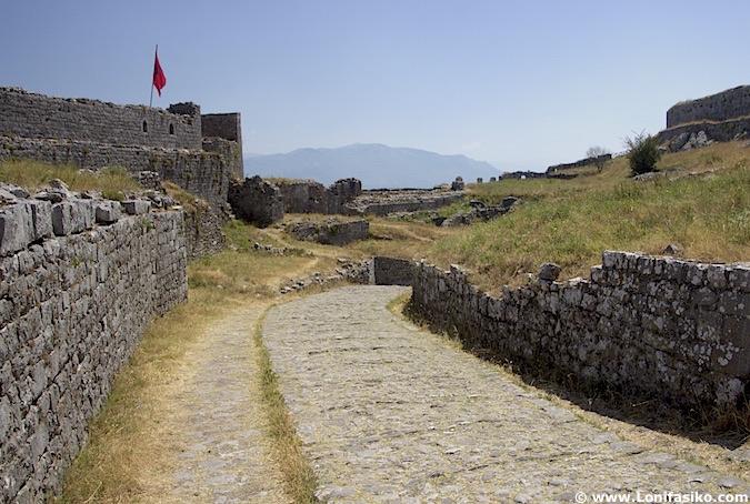 Castillo de Shkodër en Albania