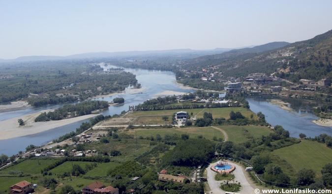 ríos Drin y Bojana en Shkodër