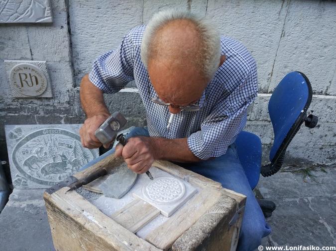 bazar otomano de Gjirokastër albania