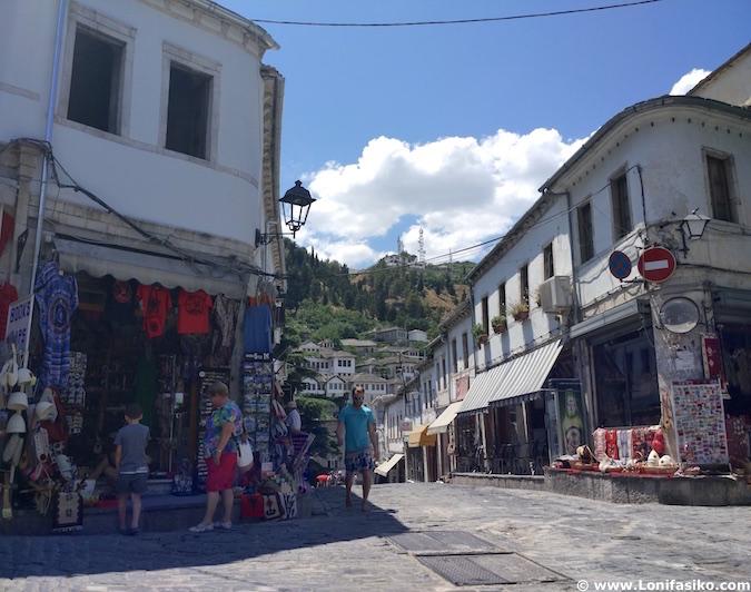 cruce bazar otomano Gjirokastër