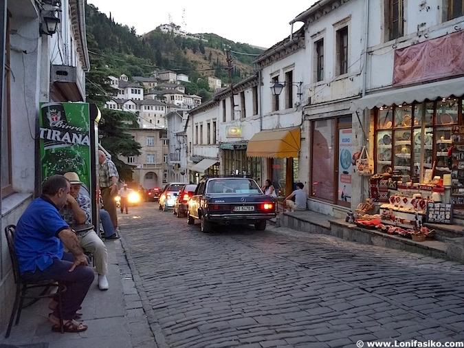 Fotos bazar Gjirokastër Albania