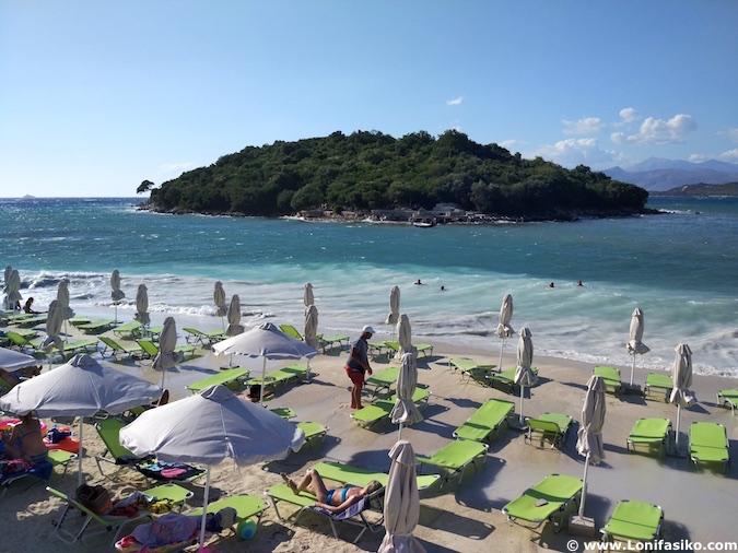 ksamil albania playas