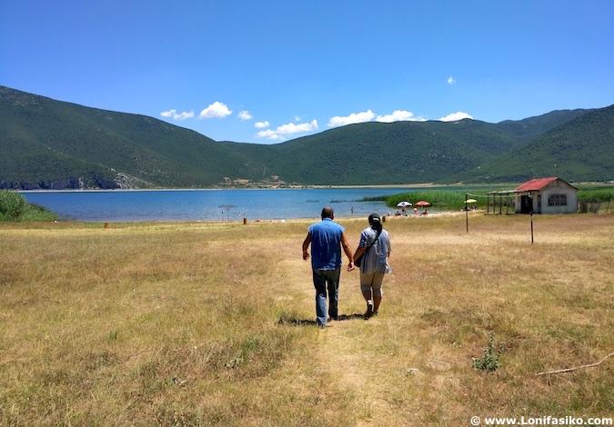 lago prespa albania playas