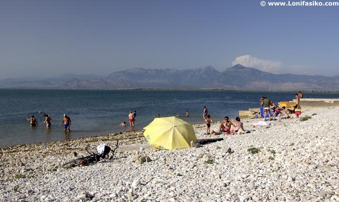 Playas Lago Shkodër Albania