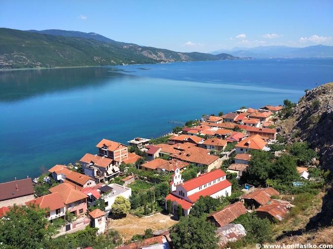 lin albania fotos lago orhid