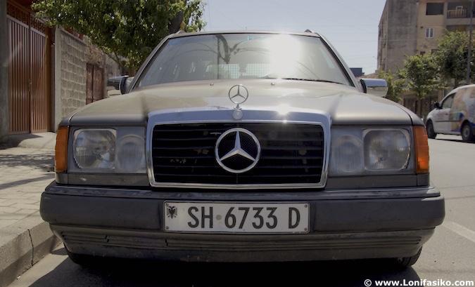 coche mercedes albania