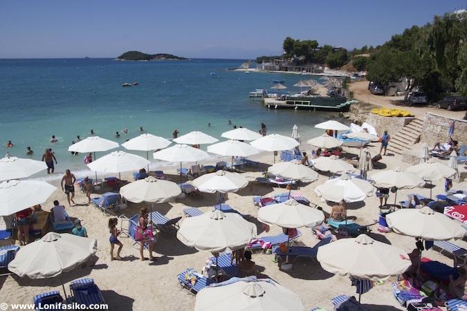 fotos de playas de Ksamil en Albania