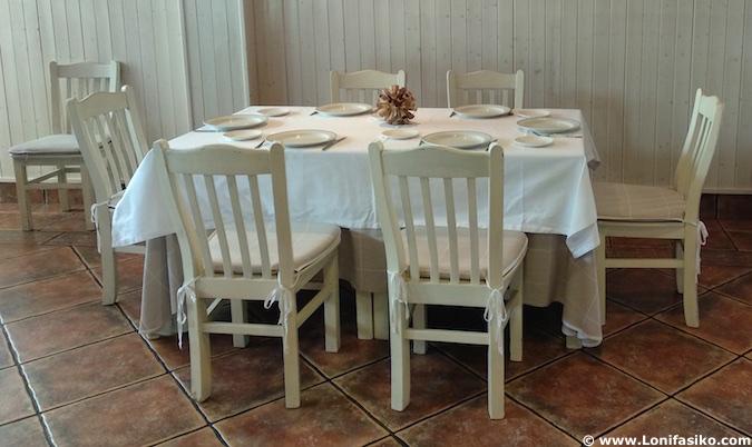 Restaurante Héctor Oribe en Páganos