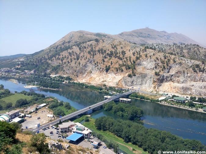río bojana shkodër albania