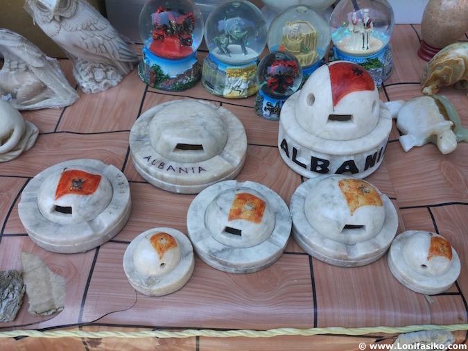souvenirs típicos Albania
