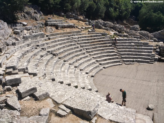 Teatro Butrint Albania fotos