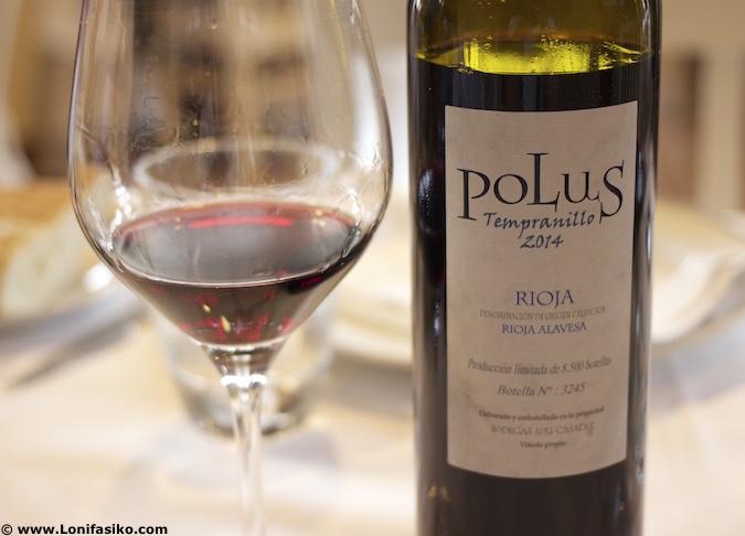 vino tinto Polus Tempranillo Bodegas Loli Casado