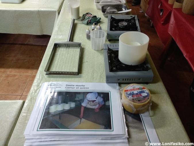 Cómo se hace queso Idiazabal Atxarte