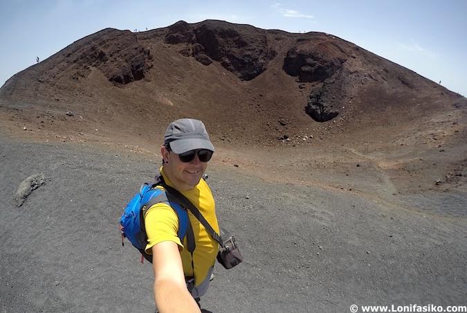 Fotos cráter Etna Sicilia