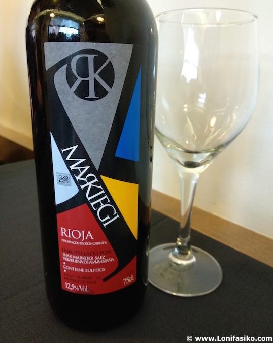 Markiegi vino Rioja Alavesa