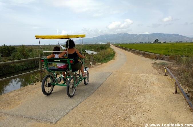 Rutas en bicicleta Terres de l'Ebre
