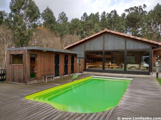 Casa rural con piscina en Urdaibai
