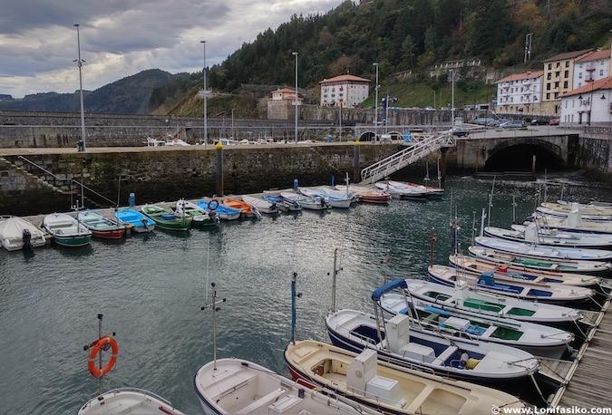 Puerto de Elantxobe en Vizcaya