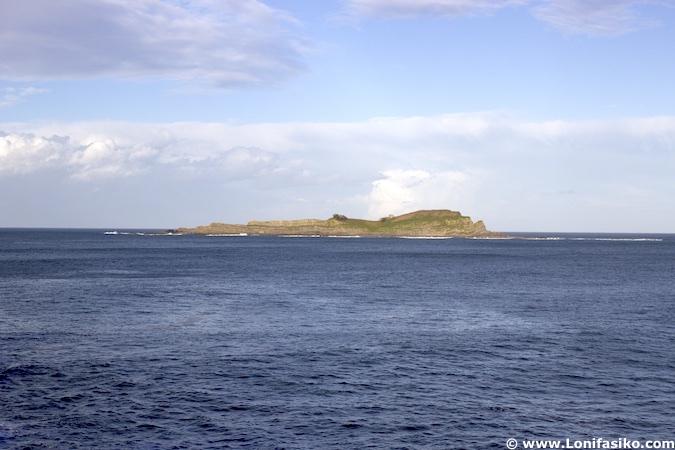 Isla de Izaro Mundaka fotos