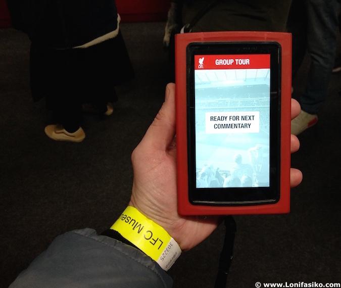 Anfield tour en Liverpool con audioguia