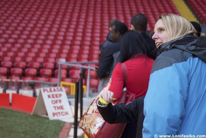Anfield Tour visita guiada al estadio del Liverpool