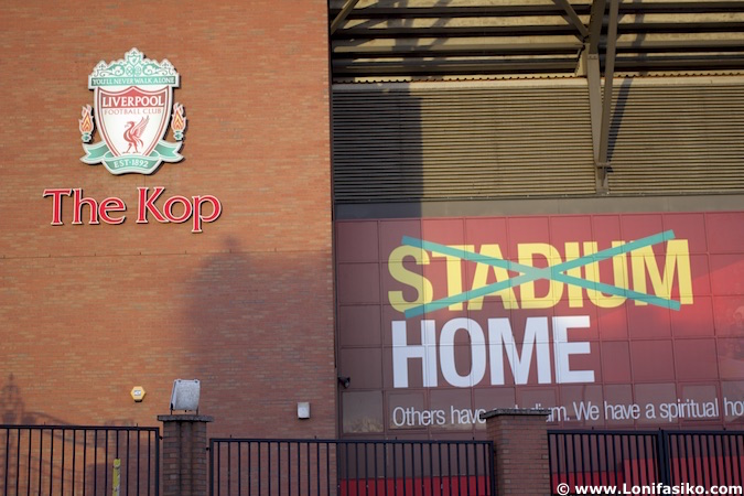 anfield the kop liverpool