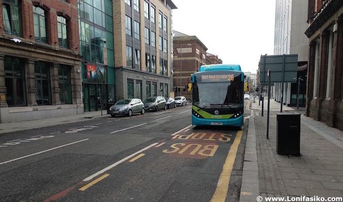 Cómo llegar a Anfield en autobús Liverpool