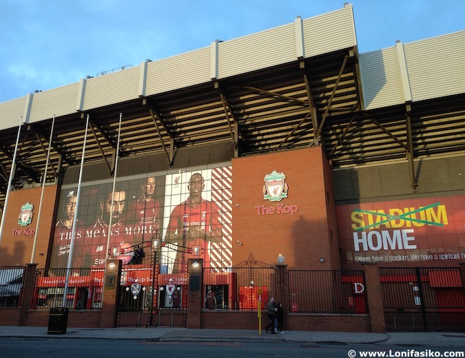 estadio anfield liverpool fc
