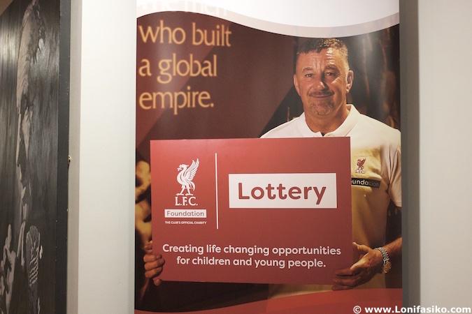 John Aldridge museo Liverpool FC Anfield