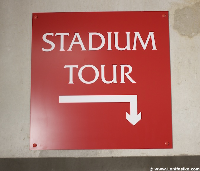 Tour por Anfield estadio Liverpool