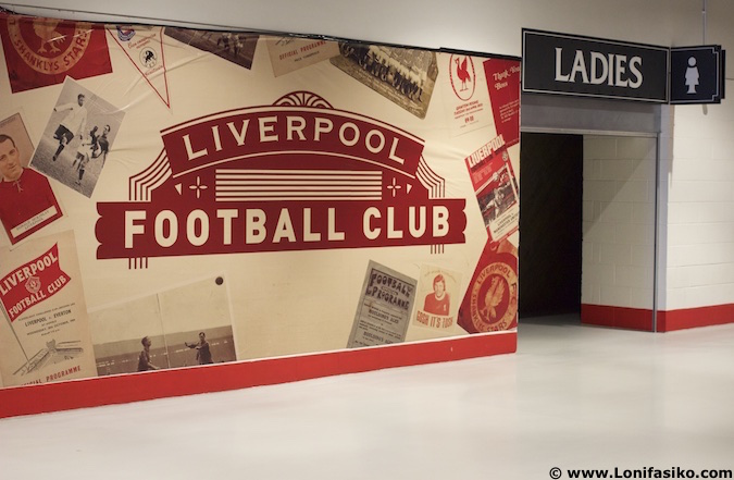 Visitar Anfield estadio Liverpool