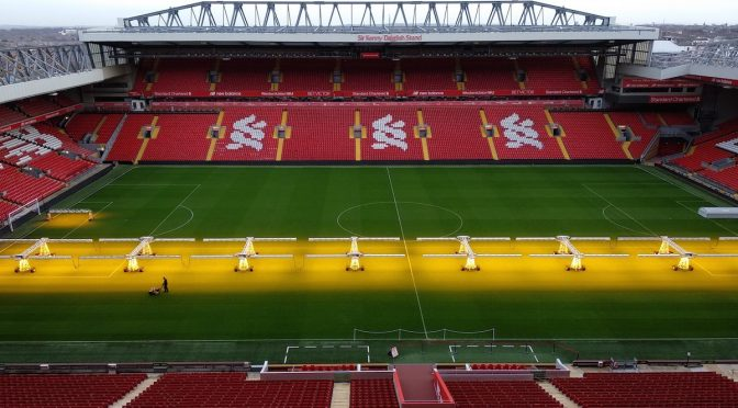 Visitar Anfield, tour por el estadio del Liverpool FC
