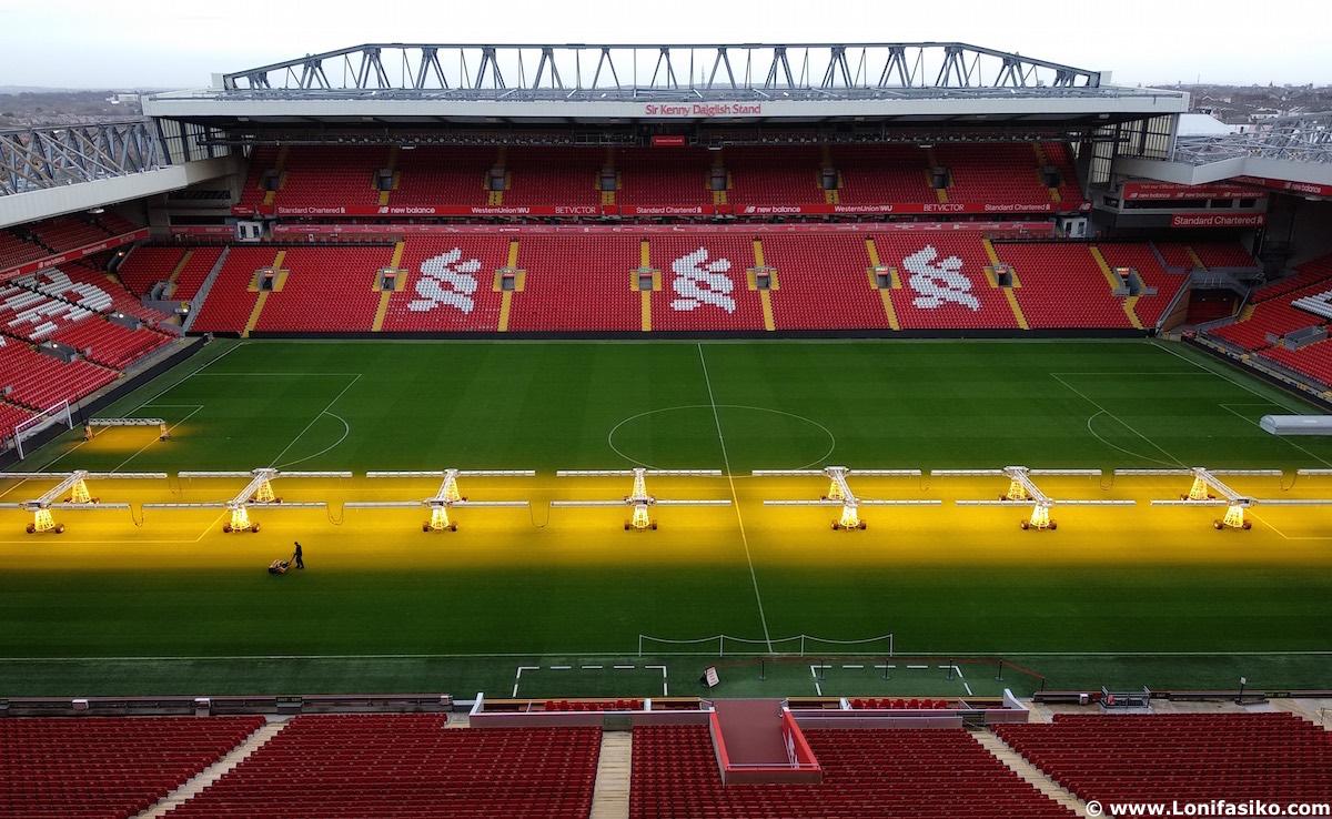 Visitar Anfield en Liverpool con Civitatis