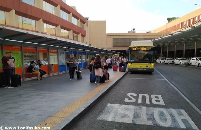 parada bus aeropuerto madrid-barajas