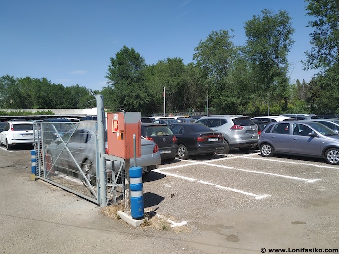 parking lowcost aeropuerto de barajas
