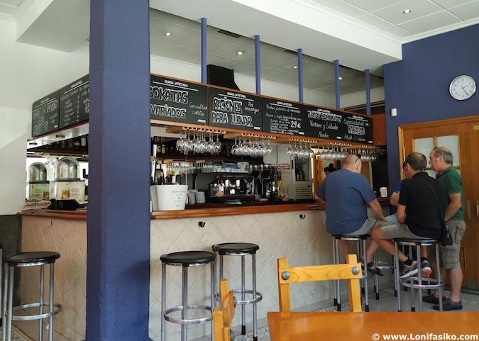 bar restaurante Guria Jatetxea en Elorrio
