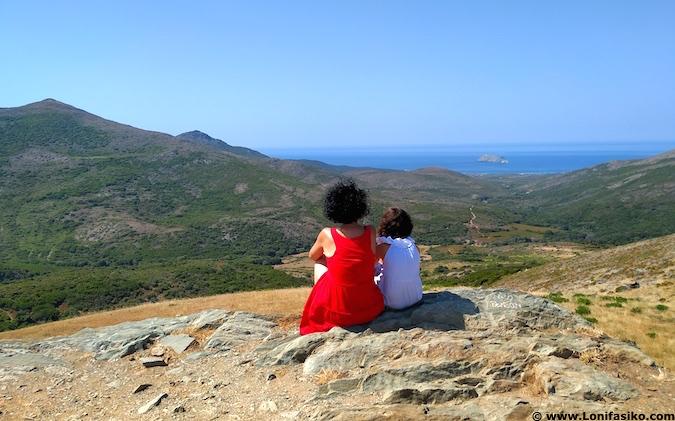 Cabo Córcega con niños Cap Corse