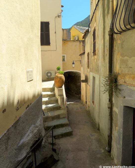 Calles Nonza fotos Cap Corse Córcega