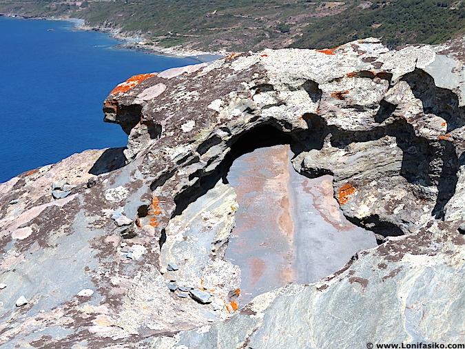 Erosión Nonza Cap Corse