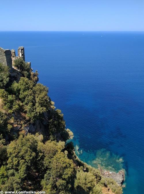 Mar de Liguria: fotos Nonza Cap Corse