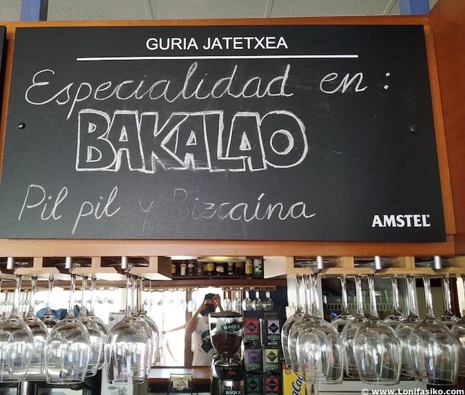 Mejor bacalao al pil pil País Vasco euskadi
