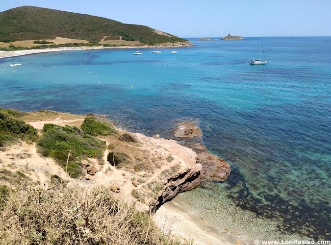 mejores playas de Córcega norte: Tamarone