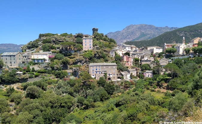 Nonza Cap Corse Córcega