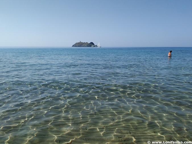 playas de cabo Córcega en Barcaggio