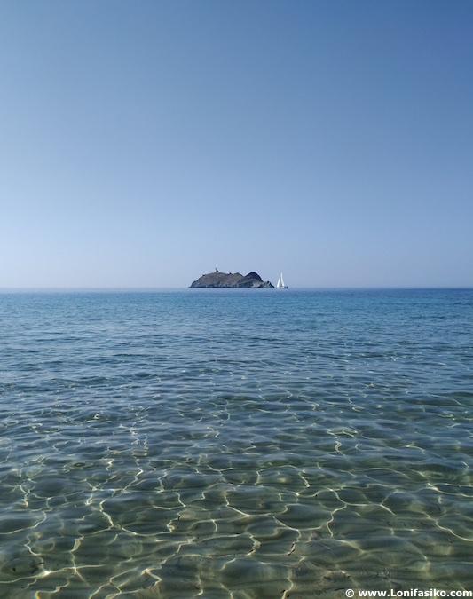Playas norte de Córcega Cap Corse