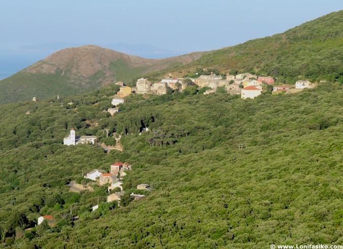 Pueblos de Cap Corse en Córcega