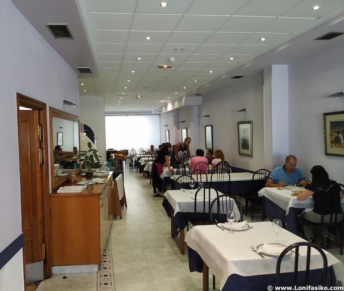 restaurante guria jatetxea elorrio comedor fotos