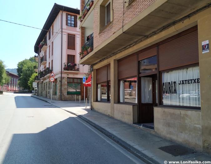 restaurante guria jatetxea elorrio cómo llegar desde bilbao