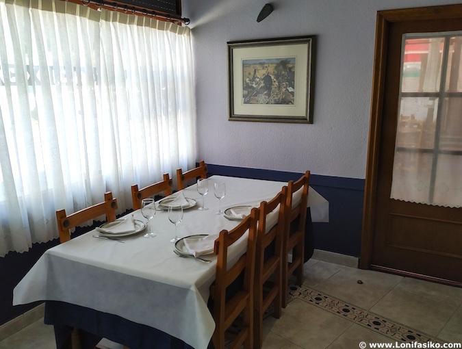 restaurante guria jatetxea elorrio fotos