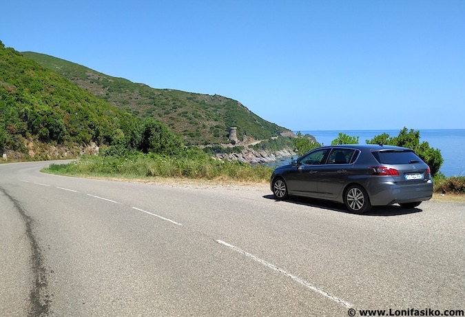 Ruta en coche por Cap Corse o Cabo Córcega